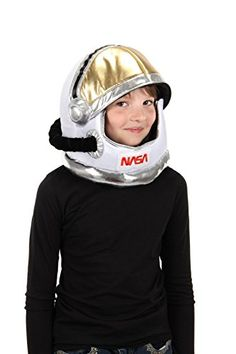 Astronaut Costume Plush Helmet Hat for Kids by elope Astronaut Suit, Astronaut Costume, Nasa Patch, Astronauts In Space, Gold Face, New Star, Kids Hats, Kid Spaces, Costume Accessories