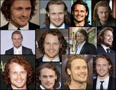 Happy Birthday Sam, Outlander News, Sam And Cait, Samheughan, Jamie Fraser, The Man, Tv Series, Handsome, Actors