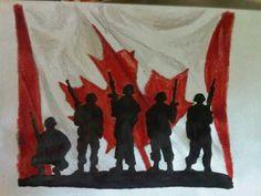 Canadian heros. The heros of my home.