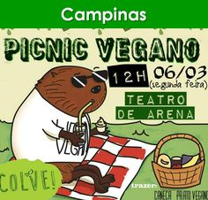 ➡ Link do evento no Facebook: www.facebook.com/events/176612759505293    #eventosveganos #eventovegano #veganismo #vegana #vegano #vegetarianismo #vegetariana #vegetariano #vegan #govegan #campinas