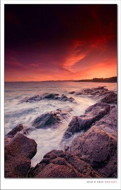Aiguebonne Beach @ Saint-Raphaël (French Riviera)
