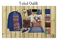 """Tribal Outfit"" by melaccamarina on Polyvore featuring moda, Halston Heritage, Frye, M&F Western, Soludos e Tory Burch"