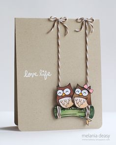This is an all-round DIY card making ideas for you. That means you will get card making ideas through all types of occasions you need to face regularly. Wedding Cards Handmade, Handmade Birthday Cards, Greeting Cards Handmade, Diy Birthday, Paper Cards, Diy Cards, Owl Punch Cards, Owl Card, Card Drawing