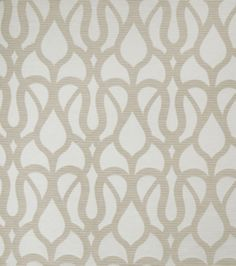Home Decor Print Fabric-Eaton Square Sergio-Taupe Scrollwork, , hi-res