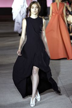 Yumi Lambert walking John Galliano Spring '13 RTW #runway #fashion