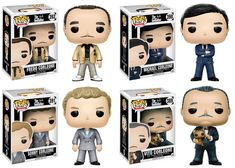 To celebrate the anniversary of the iconic filmThe Godfather, Funko is making an offer you can't refuse:the Corleone crime family in Pop!Collect Mafia Don Vito Corleone, and his sonsMichael, Sonny, and Fredo! Fredo Corleone, Vinyl Figures, Action Figures, Sleep With The Fishes, Lego Tv, Godfather Movie, Custom Funko Pop, Geek Gifts, Pop Vinyl