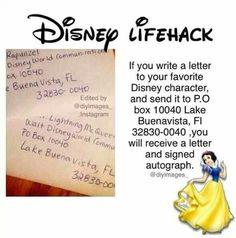 Disney hack!