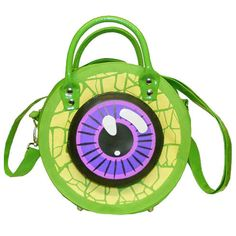Just Sold: Kreepsville Eyeball Bag in Green!
