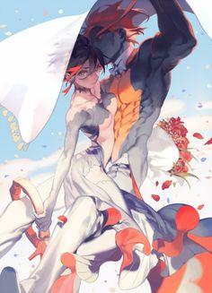 WeddingDay-rei子__涂鸦王国插画