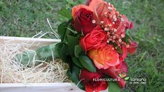 Buquê de Noiva com Rosas e Calas