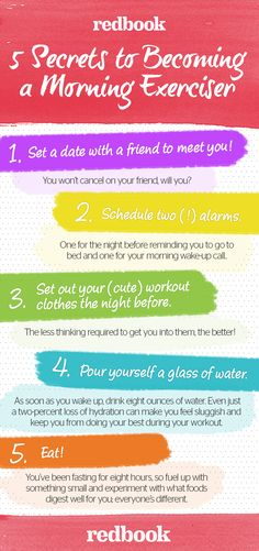 Weight Loss Workout - How To Workout In The Morning - 5 Steps So You Always Work Out in the Morning.