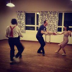 Social dance in Vallvik #ritzlindyhoppers