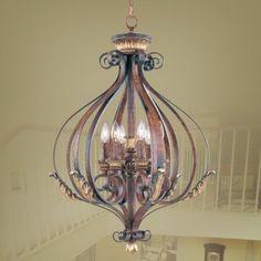 Livex Lighting 8557-63 Villa Verona Foyer.Price only $599.90.