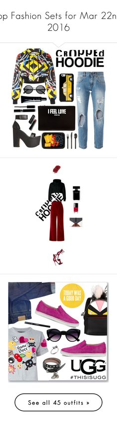 """Top Fashion Sets for Mar 22nd, 2016"" by polyvore ❤ liked on Polyvore featuring FoodSaver, Dolce&Gabbana, Givenchy, Kate Spade, Moschino, CB2, Giorgio Armani, Sisley Paris, Bobbi Brown Cosmetics and Giuseppe Zanotti"