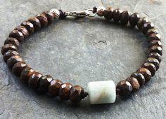 Check out this item in my Etsy shop https://www.etsy.com/listing/198303220/miles-mens-bracelet-birthstone-bracelet