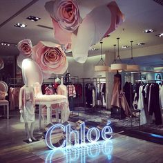 "JOYCE CENTRAL,Hong Kong, China, ""CHLOE......in the pink"", pinned by Ton van der Veer"