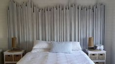 27 Calm And Relaxed Whitewashed Headboards - DigsDigs