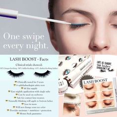 Lash Boost by Rodan + Fields! It's not a mascara--it's a nightly treatment. Just launched today! www.rhea.myrandf.com #lashes