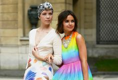 Paris Couture shows - shot by Tommy Ton