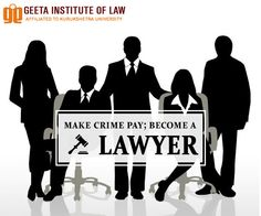 Join Geeta group of Law and turn your dreams of becoming a top lawyer a reality! For details visit: www.geetalawcollege.in or call- +91-9729970000. #GeetaInstituteOfLaw