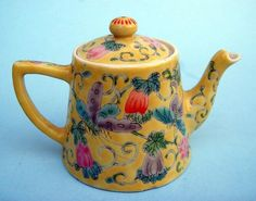 Ancient Chinese Teapots  - Teapot design is a folk artwork alone.