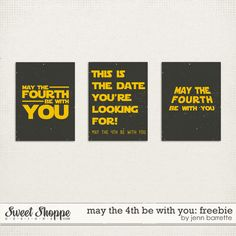 MAY THE FOURTH - the perfect day for a Star Wars wedding!