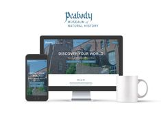 Personal re-design of Yale's Peabody Museum logo and website. Peabody Museum, Web Design, Graphic Design, Field Trips, Discover Yourself, Typography Design, Hand Lettering, Parents, Childhood