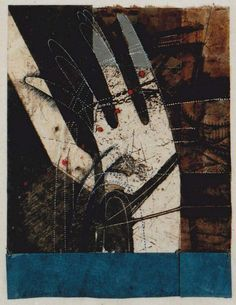 Takahiko Hayashi ~ D-25, 1989 (mixed media, etching print, painting, collage)