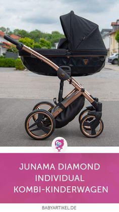 Junama Diamond Kombi-Kinderwagen 💎 💎 💎 An absolute eye-catcher is the Junama Diamond combi-stroller Baby Girl Strollers, Toddler Stroller, Pram Stroller, Baby Prams, Maxi Cosi Citi, Baby Trolley, Baby Tub, Baby Buggy, Baby List
