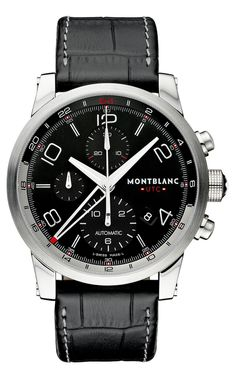 Sua chance de ter um relógio Montblanc