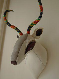 Tamar Mogendorffs gorgeous gazelle.  In Alfie's Room