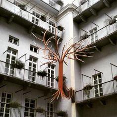 Cortile di Palazzo Valperga Galleani #inTO #Torino #Turin #italia #italy #architettura