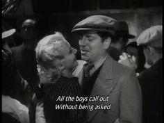 Jean Gabin sings a variation of La Java Des Marsiallo in the film ZouZou cc 1934.