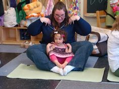 Parent/child yoga