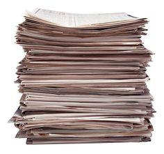Ideas para reciclar papel periódico