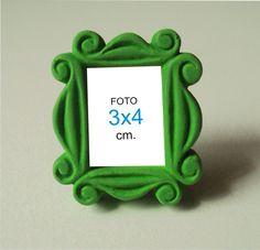 Porta Retrato 3x4cm Mini Moldura Friends