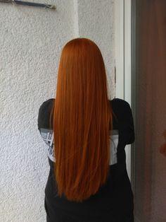 rézvörös haj
