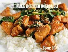 VLEIS - HOENDER Chicken Fillet Recipes, Meat, Baking, Food, Bakken, Essen, Meals, Backen, Yemek