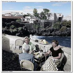 Puerto de la Cruz, Tenerife 1950-60