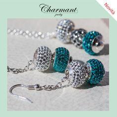 Componi i tuoi orecchini e la tua callana.  Scegli le beads che preferisci direttamente sul sito:  www.charmantjewelry.com  #charmantjewelry #novità #beads #bead #braccialecomponibile  #orecchinicomponibili #collanacomponibile