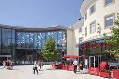 #Woking #Shopping#Surrey - #Peacocks #Centre #LoveShopping #Love #Cafe #Rouge #Sunshine