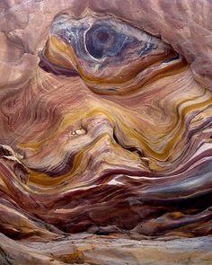 One eye in the Canyon. Colorful stone in Red Canyon, Sinai , Egypt by José Eduardo Silva. All Nature, Science And Nature, Amazing Nature, Patterns Background, Beautiful World, Beautiful Places, Formations Rocheuses, Places Around The World, Natural Wonders