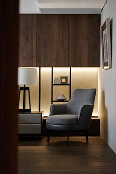 AURA LIFESTYLE | MOUNTAIN AND ROCKS - Guscio soft armchair by Flexform, Italy