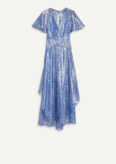 Robe longue imprimée - Robes - Maje.com