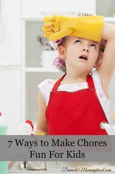 When you have kids making them do their chores turns into a big chore for you. Remove some of the headache from getting the chores done by changing up a few things. Try one or all of these suggestions to make chore time a little less of a struggle.  Whistle while you work– We …