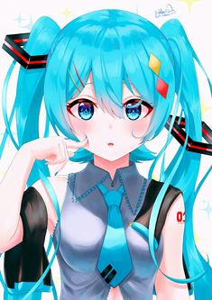 Kawaii Chibi, Kawaii Anime Girl, Anime Style, Vocaloid, Manga Anime, Anime Art, Miku Chan, Beautiful Anime Girl, Aesthetic Anime