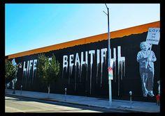 From Brainwash. Highland Av.  Hollywood, CA