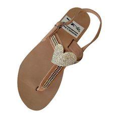 Leather Swarovski strap sandals! Made from genuine leather and Swarovski. Bridal, Bridesmaid or Beach Wedding Sandals