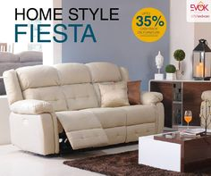 Evok brings to you 'Home Style Fiesta' - a beautiful blend of state-of-the-art furniture stylishly crafted to suit your unique tastes and a fabulous opportunity to receive upto 35% CashBack on your shopping! #EvokHomes #Furnitue #HomeStyleFiesta
