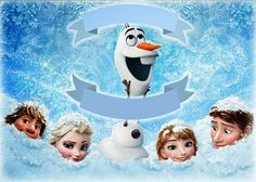 New Video with Elsa from Frozen ( Disney Movie ) & Nursery Rhymes for Kids! Film Frozen, Olaf Frozen, Frozen Background, Frozen Banner, Frozen Free, Candy Bar Labels, Frozen Wallpaper, Frozen Princess, Disney Songs